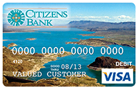 Picture of Debit Card with image of Elephant Butte Lake